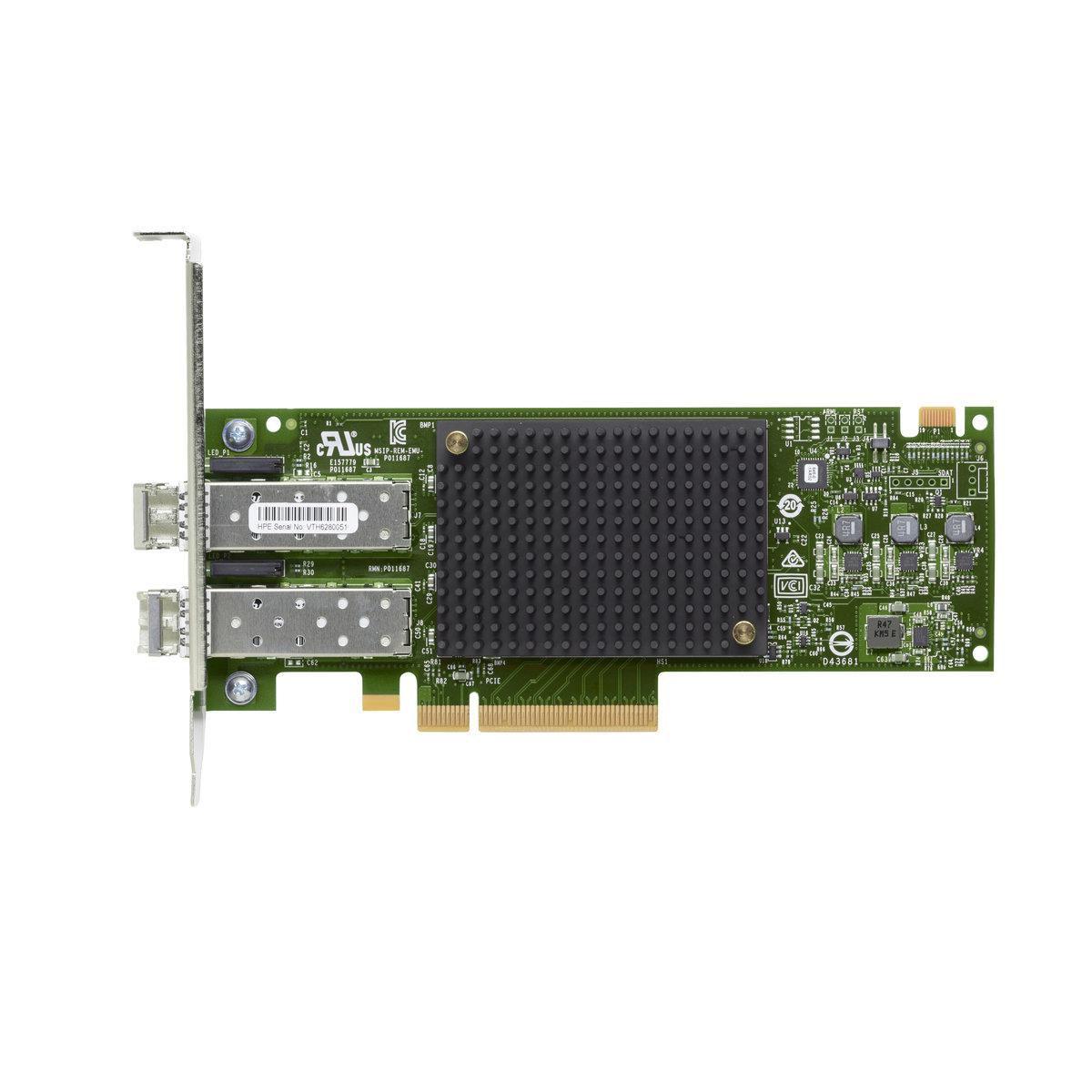 Hewlett-Packard-Enterprise Q0L12A-RFB W125728008 SN1600E 32Gb 2p FC HBA