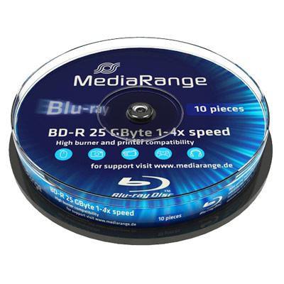 MediaRange MR495 25GB 10pcs BD-R Spi