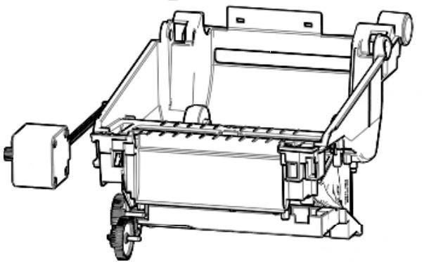 Zebra P1080383-243 W125652774 Kit, Print Mechanism 300dpi,