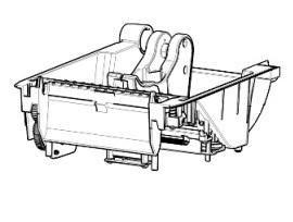 Zebra P1080383-408 W125652759 Kit, Print Mechanism 203dpi,