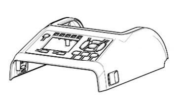 Zebra P1080383-427 W125652747 Kit, Cover Assembly for