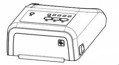 Zebra P1080383-032 W125652799 KIT, Cover Assy, ZD420 HC,