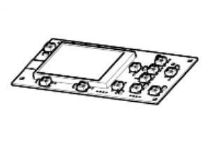 Zebra P1080383-241 W125652776 Kit, Control Panel PCBA with