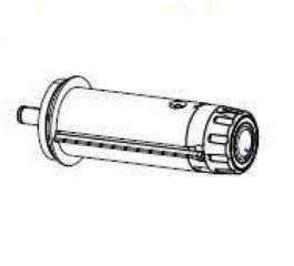 Zebra P1083320-068 W125652689 Kit Ribbon Take Up Spindle