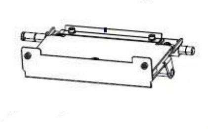 Zebra P1083347-011 W125652644 Kit Print Mechanism Hardware