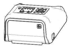 Zebra P1080383-239 W125652778 Kit, Cover Assembly for