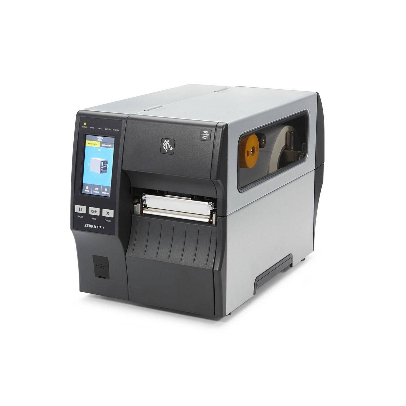 Zebra ZT41146-T4E0000Z TT Printer ZT411 4, 600