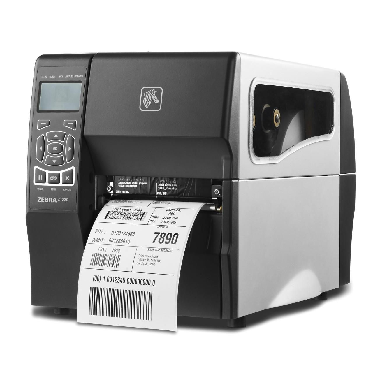 Zebra ZT23043-T0E000FZ ZT230, 300dpi, display, EPL