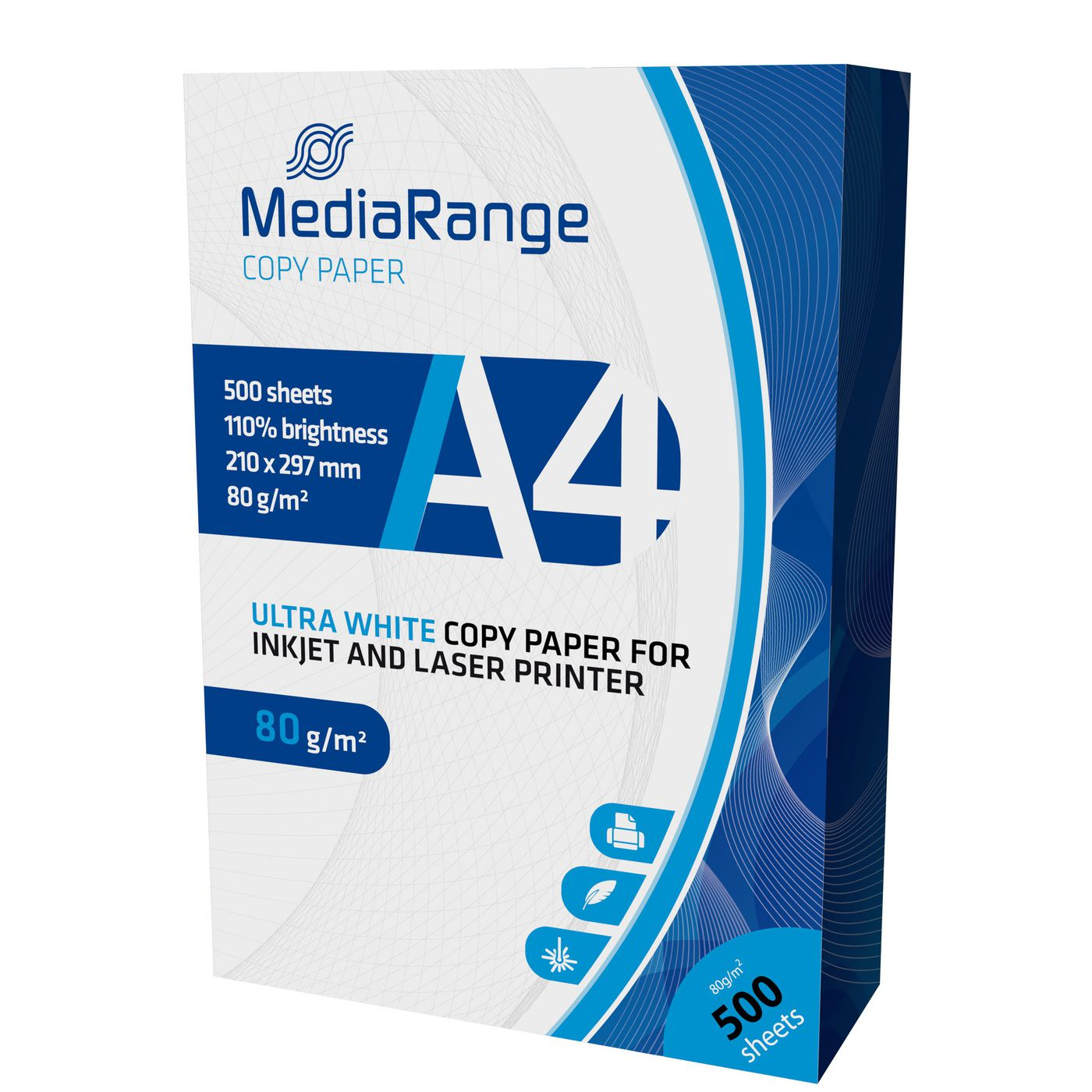 MediaRange MRINK110 Printer Paper DIN A4 80g