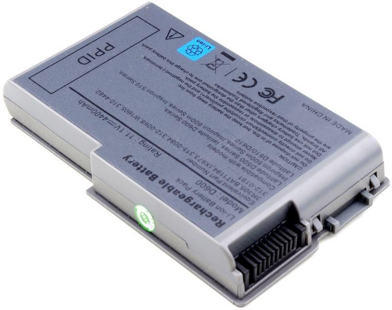 Dell Y1333 W125723055 Battery, 53WHR, 6 Cell,