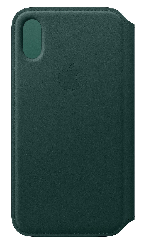 Apple MRWY2ZMA MRWY2ZM/A iPhone XS Leather Folio Forest