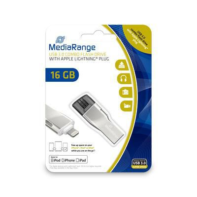 MediaRange MR981 USB-Stick 16 GB USB 3.0 combo