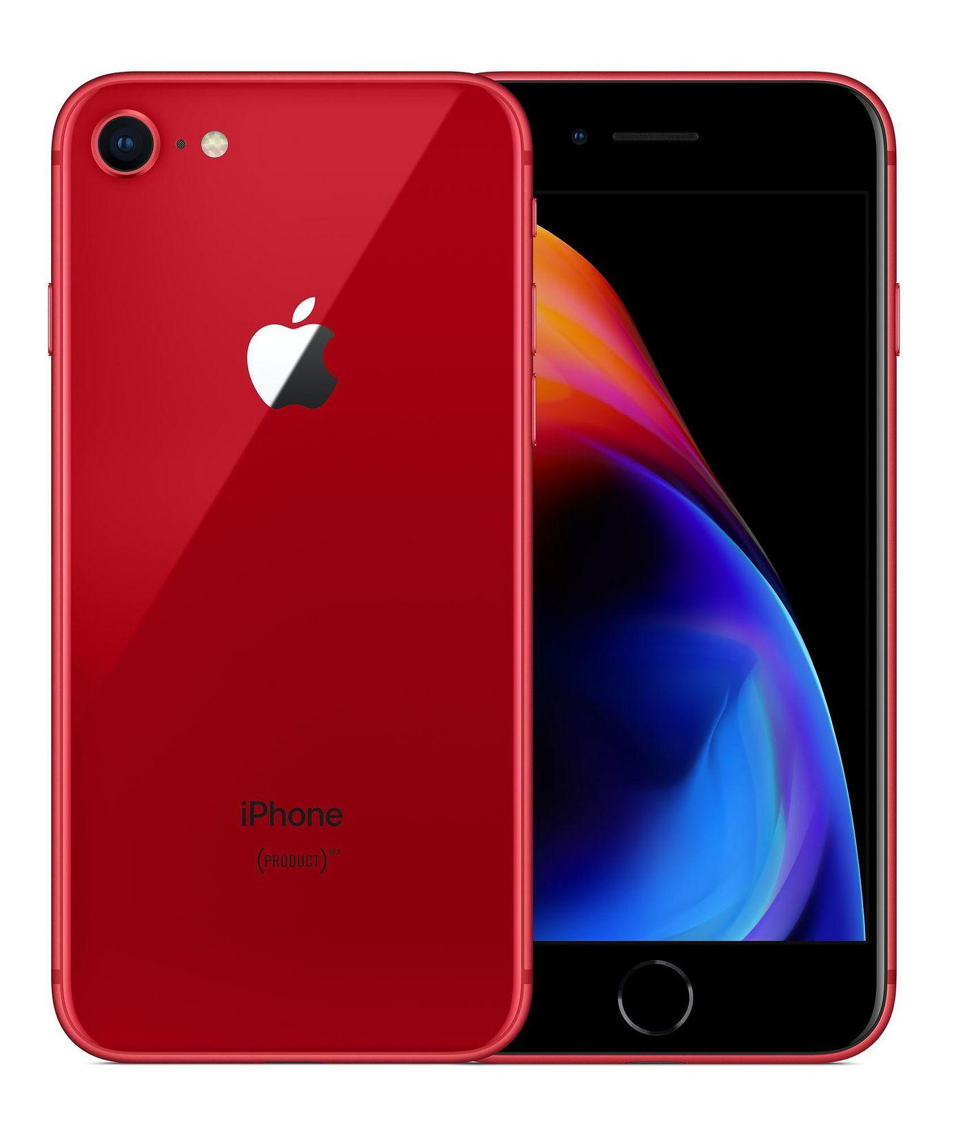 Apple MRRN2BA MRRN2B/A iPhone 8 256GB Red