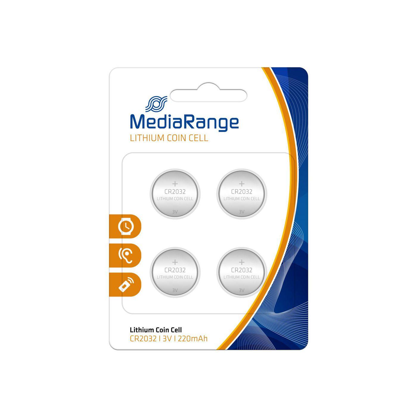 MediaRange MRBAT132 Batterie Coin Cell Blister