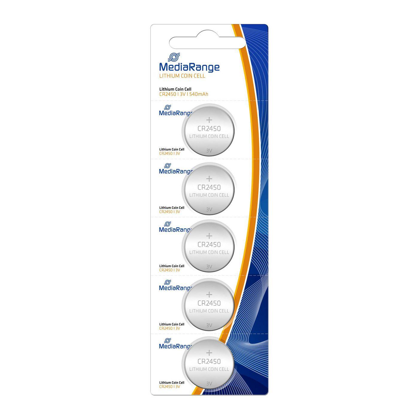 MediaRange MRBAT138 Batterie Coin Cell Blister