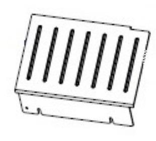 Zebra P1083347-004 W125652645 Kit Trim Panel ZT510