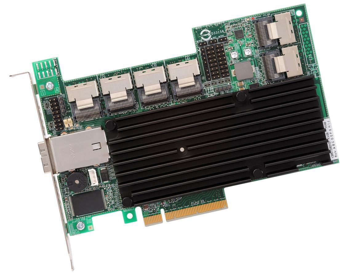 Avago MRSAS9280-24I4ESGL MRSAS9280-24I4E/SGL SAS RAID, PCIe,24 ports int.