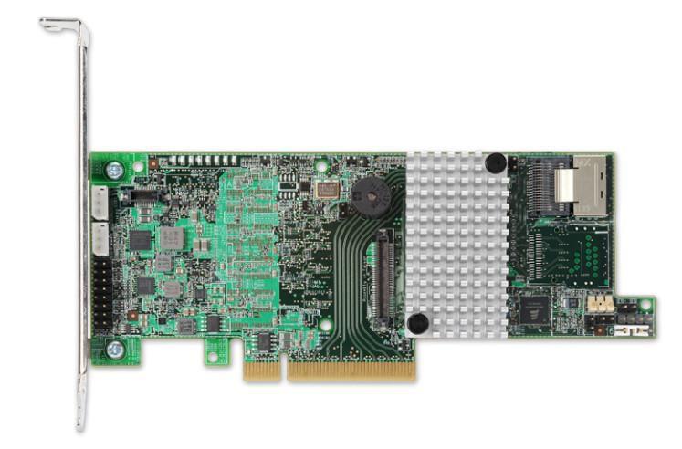 Avago MRSAS9266-4ISGL MRSAS9266-4I/SGL 4-Port Ext., 6Gbs